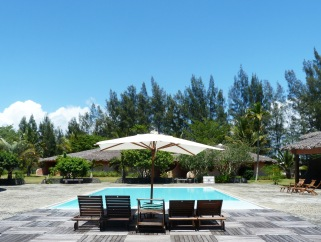 Vahiny Lodge, hotel à Mananjary, la piscine 3