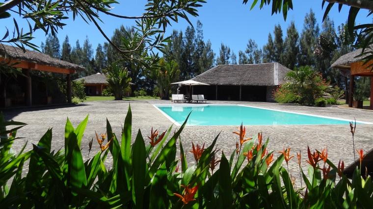 Vahiny Lodge, hotel à Mananjary, la piscine